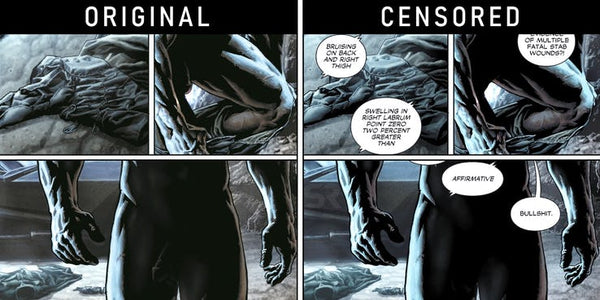 Nude Batman Gets Censored By DC Comics