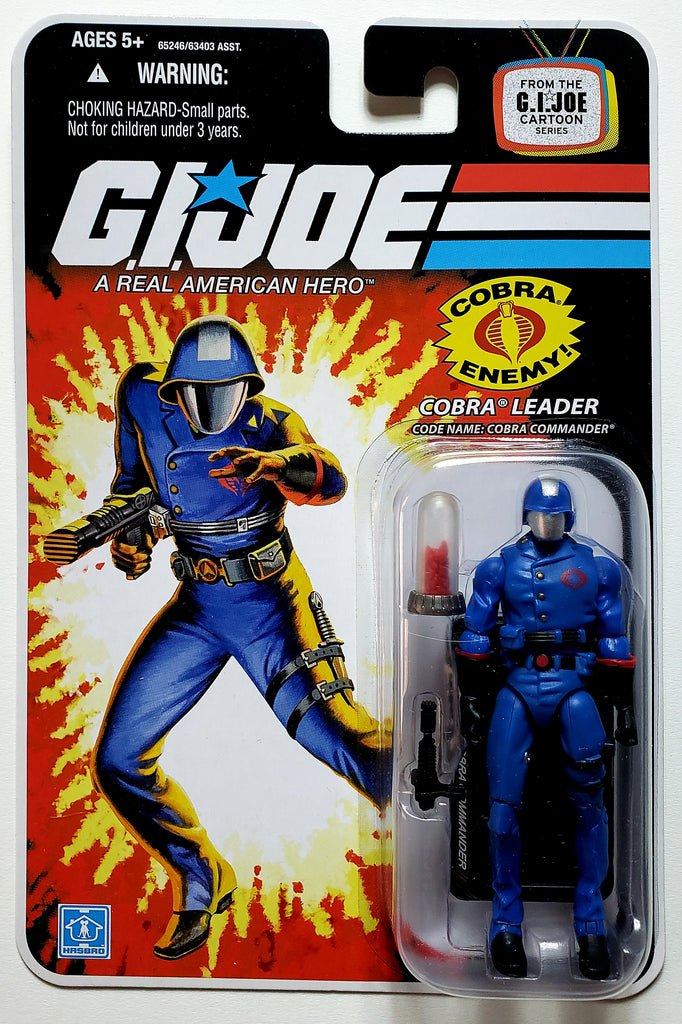 G.I. Joe | 25th Anniversary (Hasbro, 2008) | Cobra Leader, Cobra Commander | MiP