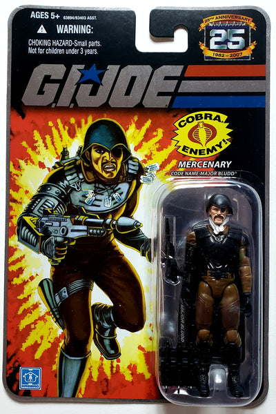 G.I. Joe | 25th Anniversary (Hasbro, 2008) | Major Bludd,Mercenary | MiP