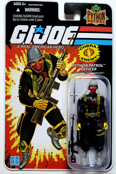 G.I. Joe | 25th Anniversary (Hasbro, 2008) | Python Patrol Officer | MiP