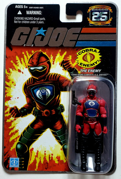 G.I. Joe | 25th Anniversary (Hasbro, 2008) | Cobra H.I.S.S. Driver, The Enemy
