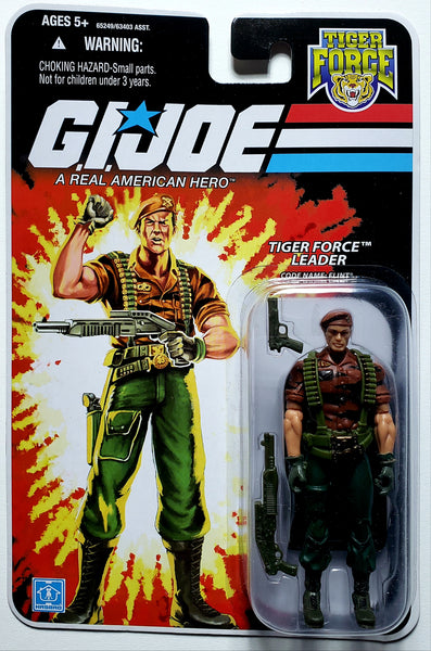 G.I. Joe | 25th Anniversary (Hasbro, 2008) | Flint, Tiger Force Leader | MiP