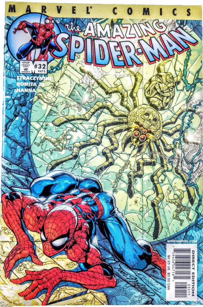 Amazing Spider-man #32 (Marvel, 2001), J Scott Campbell,  J Michael Straczynski