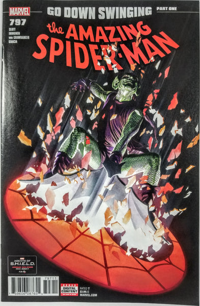 Amazing Spider-man #797 (Marvel, 2018), Red Goblin, 1st Print, Sold Out, HOT!!!