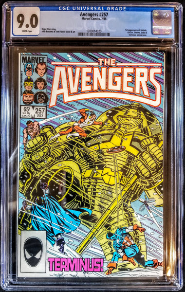 Avengers #257 (Marvel, 1985) 1st Appearance Nebula, CGC 9.0, Buscema Art & Cover