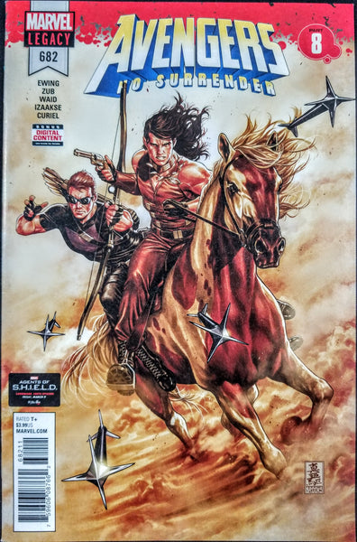 Avengers #682 (Marvel 2018) No Surrender, Secret Chase No Mask Variant, SOLD OUT
