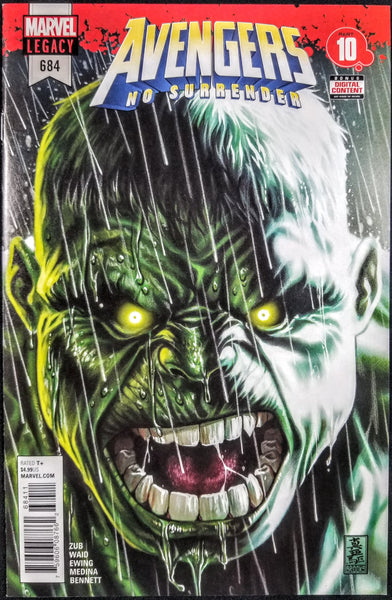 Avengers #684 (Marvel, 2018), Immortal Hulk 1st Appearance, 1st Print, SOLD OUT!