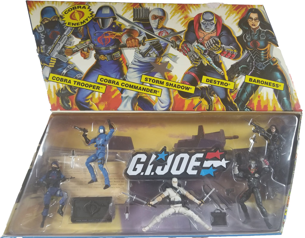 G.I. Joe 25th Anniversary Action Figures | Cobra Battle Pack #1 | NiP