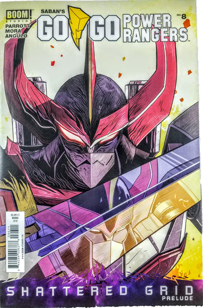 Go Go Power Rangers #8 (Boom, 2018), 1st Print, Shattered Grid, Ranger Slayer