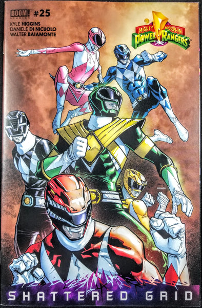 Mighty Morphin Power Rangers #25 (Boom, 2018), Shattered Grid, HOT, SOLD OUT!!!