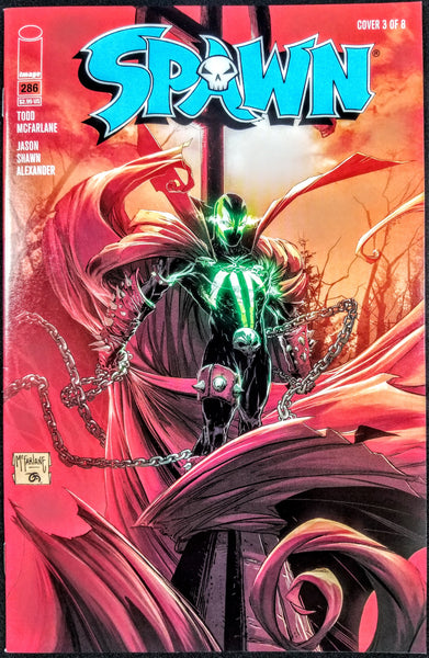 Spawn #286 (Image, 2018), Todd McFarlane, Cover #3 Variant