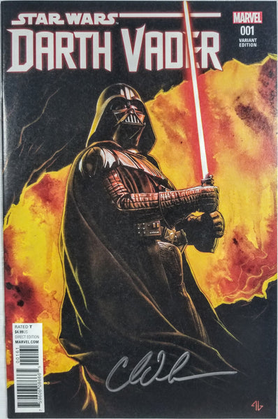 Star Wars: Darth Vader #1 (Marvel, 2015), Signed by Charles Soule