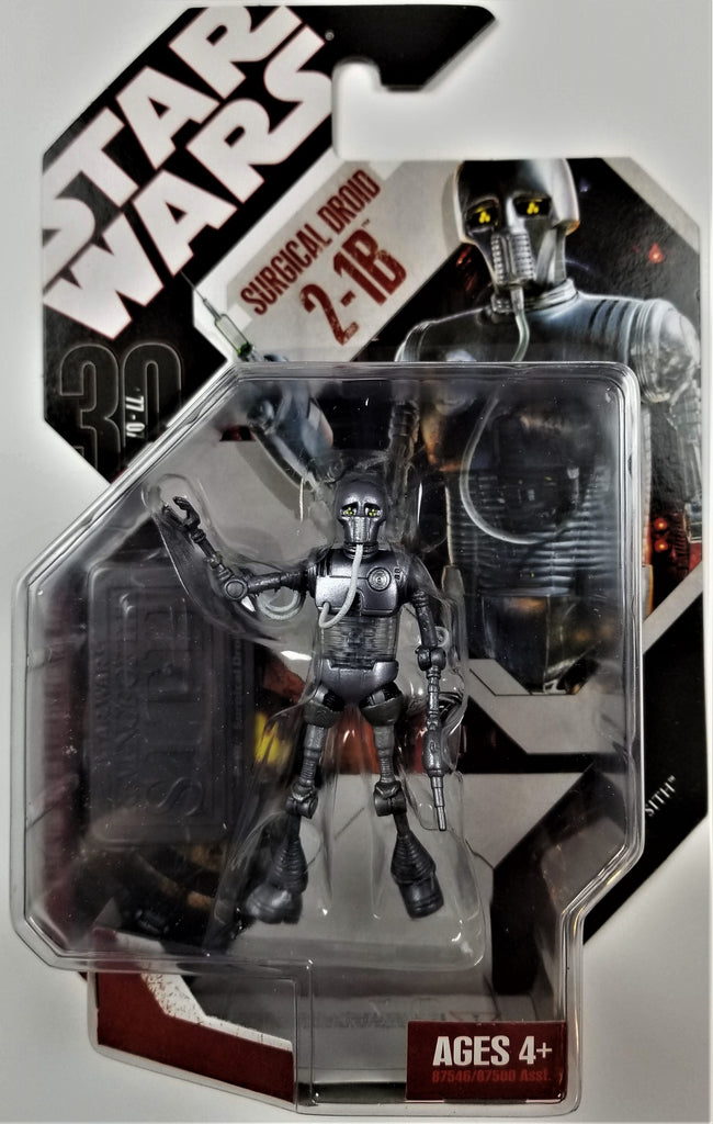 Star Wars | 30th Anniversary (Hasbro, 2008) | #06 2-1B Surgical Droid
