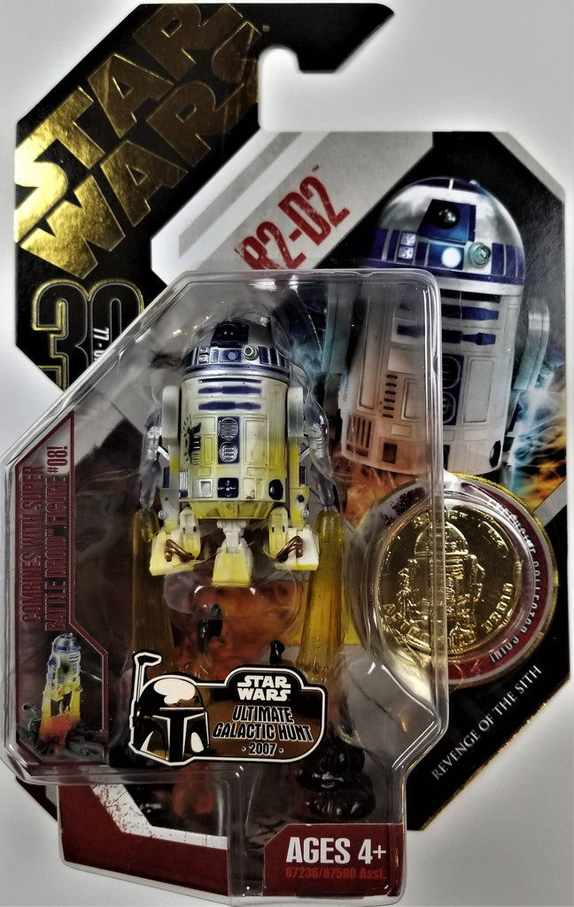 Star Wars | 30th Anniversary (Hasbro, 2007) | #04 R2-D2 (UGH Gold Coin)