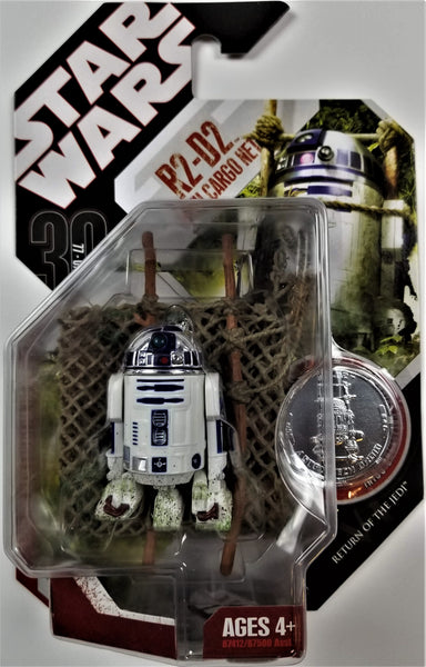 Star Wars | 30th Anniversary (Hasbro, 2007) | #46 R2-D2 with Cargo Net
