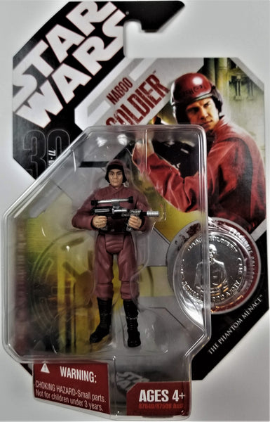Star Wars | 30th Anniversary (Hasbro, 2007) | #52 Naboo Soldier