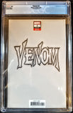 Venom #2 (Marvel, 2018), Heroes Con Crain Virgin Variant, CGC 9.8, NM, HOT!!!