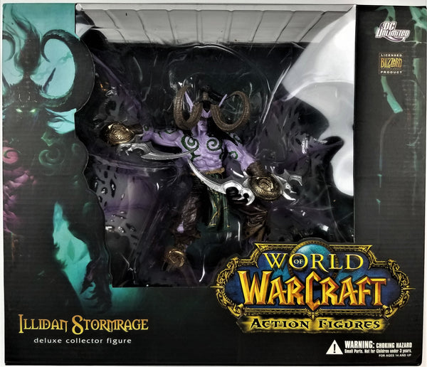 World of Warcraft (Blizzard, 2009) | Illidan Stormrage Deluxe Collector Figure
