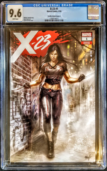 X-23 #1 (Marvel, 2018), Lucio Parrillo Trade Variant, CGC 9.6, HOT ARTIST!!!