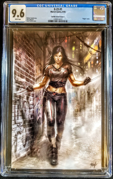 X-23 #1 (Marvel, 2018), Lucio Parrillo Virgin Variant, CGC 9.6, HOT ARTIST!!!