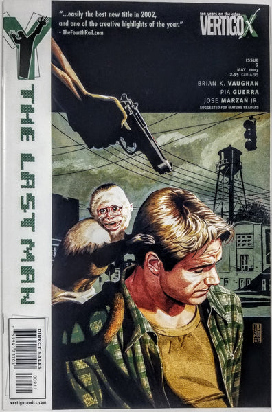 Y: THE LAST MAN #9 (DC/Vertigo, 2002), 1st Print, Brian K Vaughn, New FX Series!