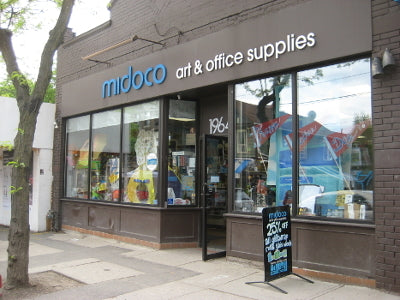 Midoco Art & Office Supplies on Queen Street East in the Beach