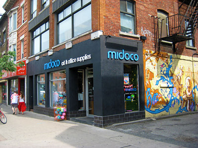 Midoco Art & Office Supplies on Bloor Street West in the Annex