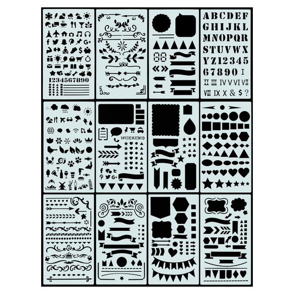 Peter Pauper Press Dot Journal Stencil Set