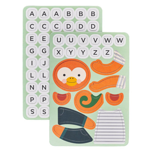 Midoco.ca: Petit Collage Hang On, Monkey Magnetic Travel Game
