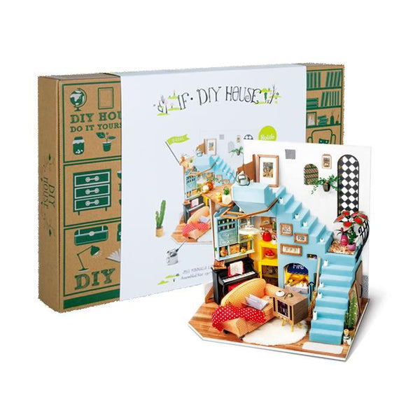 midoco.ca: Robotime Mini Model Kit - Joy's Peninsula Living Room
