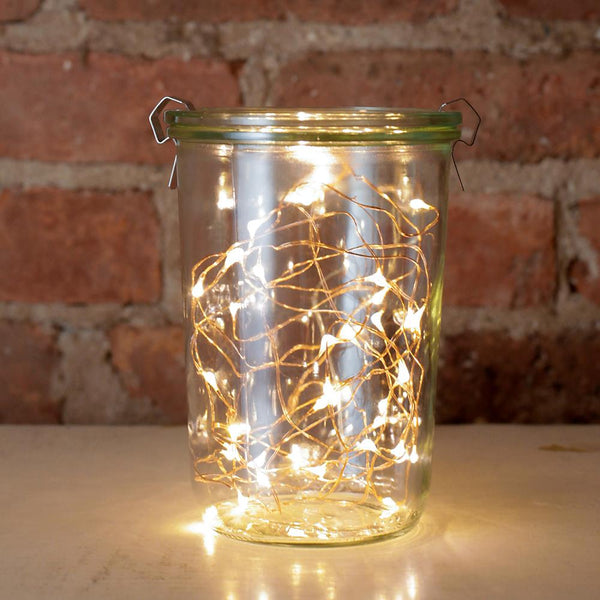 Kikkerland Mini LED String Lights - Copper