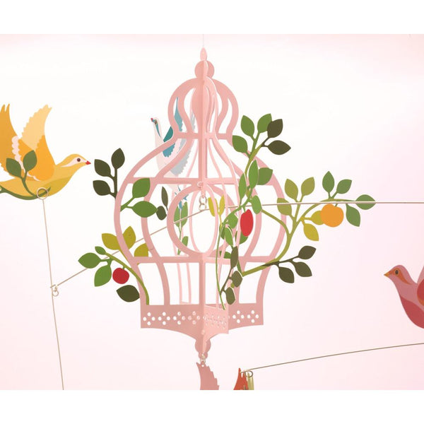 midoco.ca: Djeco Birdcage & Flying Birds Mobile