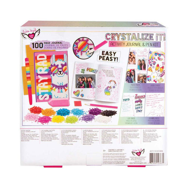 Fashion Angels Crystalize It! Activity Journal & Pen Set