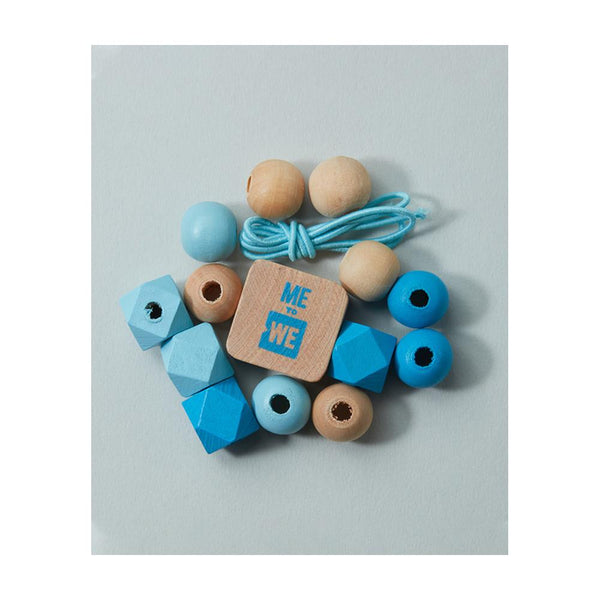 "Midoco.ca: Me to We Kids Bracelet Kit ""Water"""