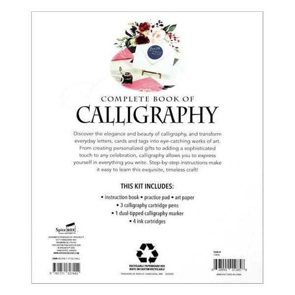 midoco.ca: SpiceBox Complete Book of Calligraphy