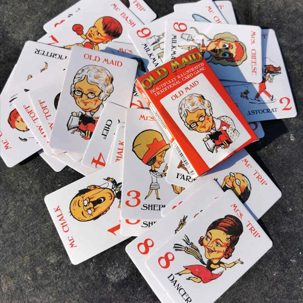 House of Marbles Old Maid Card Game