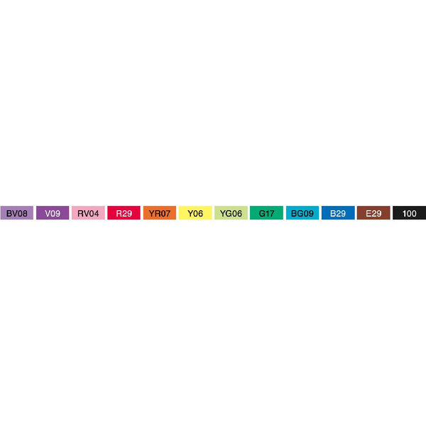 Copic Ciao Marker Set Primary 12pk