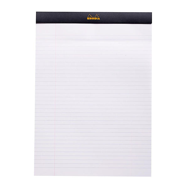 Midoco.ca: Rhodia #18 Ruled Notepad - Black
