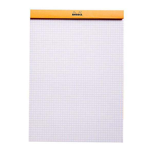 Midoco.ca: Rhodia #18 Grid Notepad - Orange