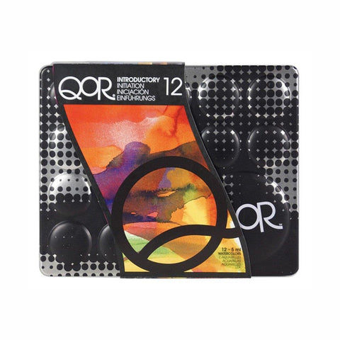 QOR Professional Watercolor Introductory Color 12 Set