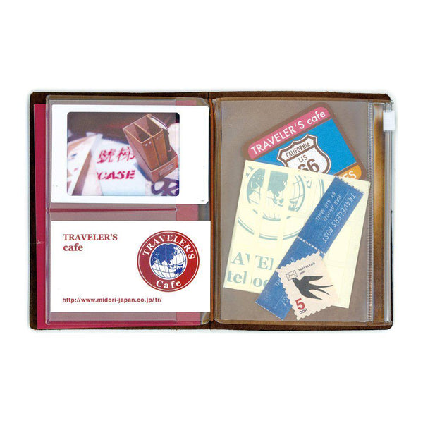 Midori Traveller's Notebook Passport Refill - Zipper Pocket