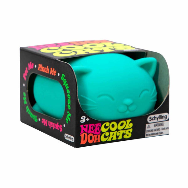 Nee Doh Cat Stress Ball Assorted Colours
