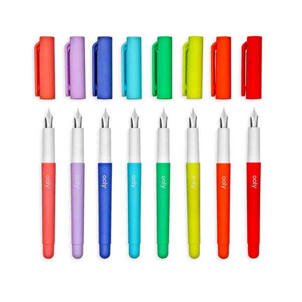 OOLY Color Write Fountain Pen Multi Pack