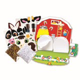 "Melissa & Doug ""Shake It!"" Farm Animals Craft Kit"