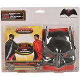 Rubie's Kid's Batman/Superman Reversible Cape & Mask