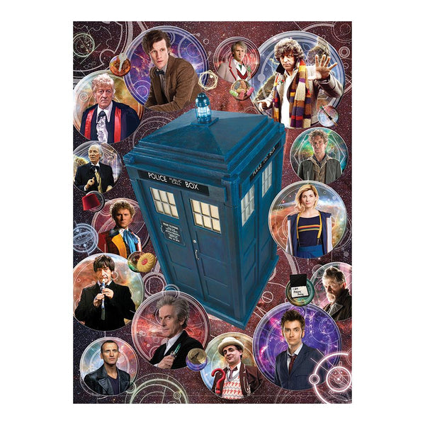 Cobble Dr Who Doctors Puzzle 1000pc