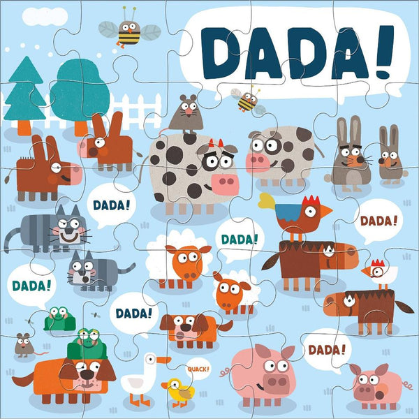 Midoco.ca: Mudpuppy 25pc Puzzle Jimmy Fallon DADA