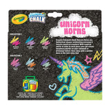 CRAYOLA Sidewalk Chalk Unicorn Horns