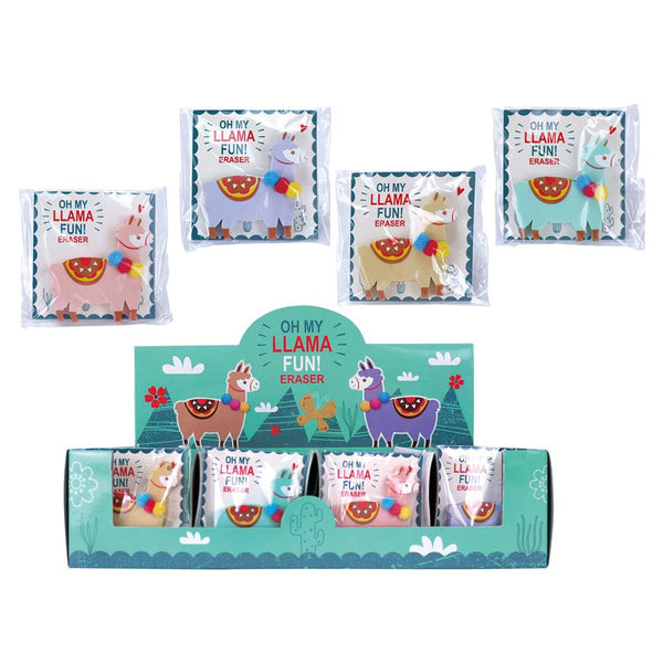 CTG Llama Eraser (Assorted Colours)
