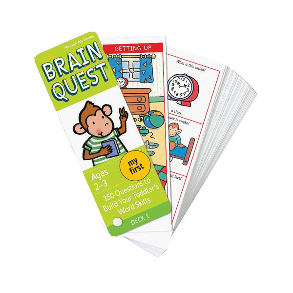 Midoco.ca:Thomas Allen Brain Quest My First Quiz Deck